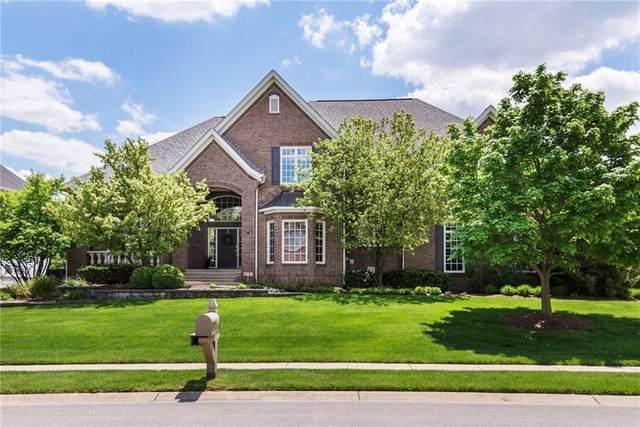 1013 Deer Lake Drive, Carmel, IN 46032 (MLS #21696599) :: The Indy Property Source