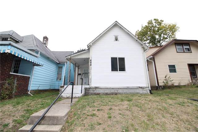 868 W 25th Street, Indianapolis, IN 46208 (MLS #21696654) :: The Indy Property Source