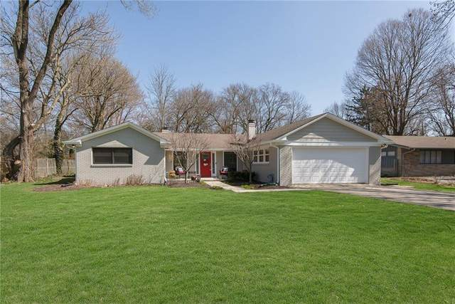 7355 Spring Mill Road, Indianapolis, IN 46260 (MLS #21696723) :: Richwine Elite Group