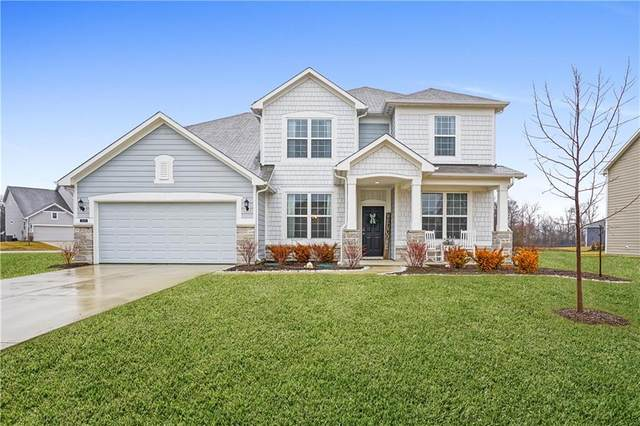 12312 Elk Dance Drive, Noblesville, IN 46037 (MLS #21696927) :: The Indy Property Source