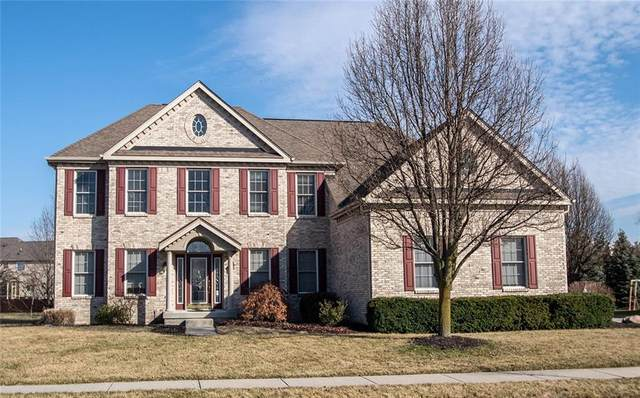 12497 Spire View Drive, Fishers, IN 46037 (MLS #21697079) :: Richwine Elite Group
