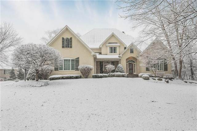 4299 Creekside Pass, Zionsville, IN 46077 (MLS #21697123) :: The Indy Property Source