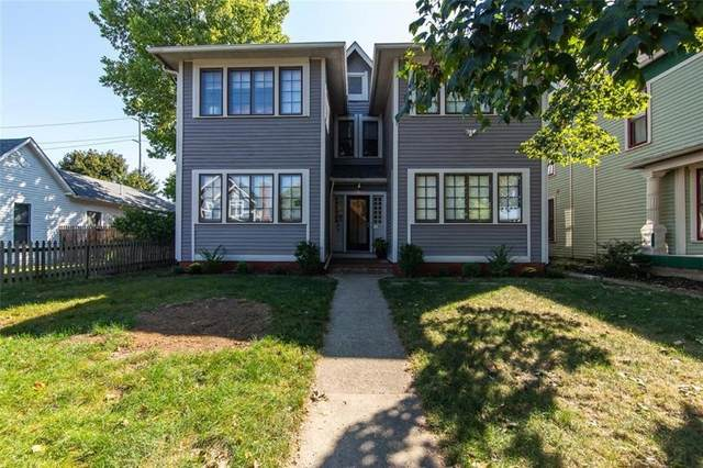 1455 N New Jersey Street #2, Indianapolis, IN 46202 (MLS #21697126) :: The ORR Home Selling Team