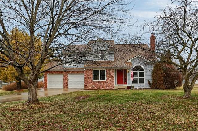 7698 Prairieview Drive, Fishers, IN 46038 (MLS #21697177) :: The Indy Property Source