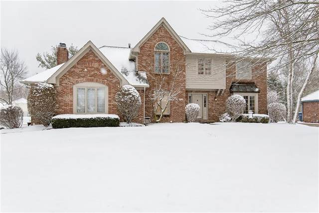 1393 Stoney Creek Circle, Carmel, IN 46032 (MLS #21697341) :: The Indy Property Source