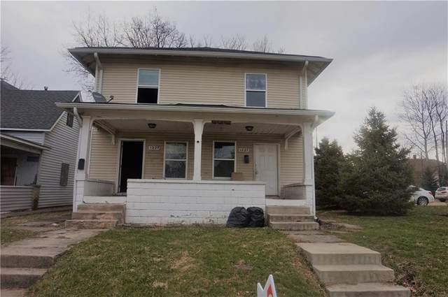 1027 N Keystone Avenue, Indianapolis, IN 46201 (MLS #21697405) :: David Brenton's Team