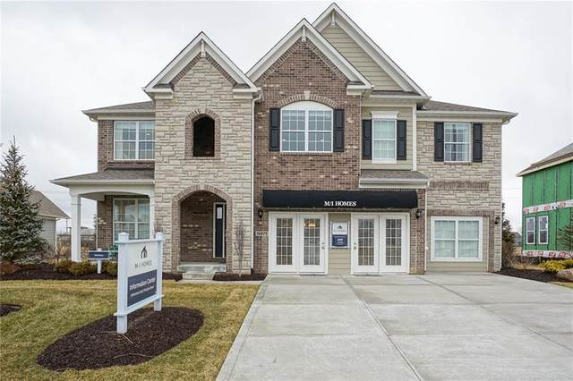 10279 Blue Ribbon Drive, Fishers, IN 46040 (MLS #21697558) :: Richwine Elite Group