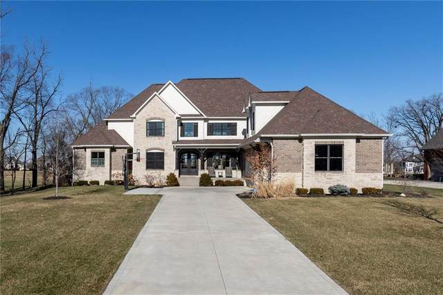 11316 Hanbury Manor Boulevard, Noblesville, IN 46060 (MLS #21697621) :: The Evelo Team