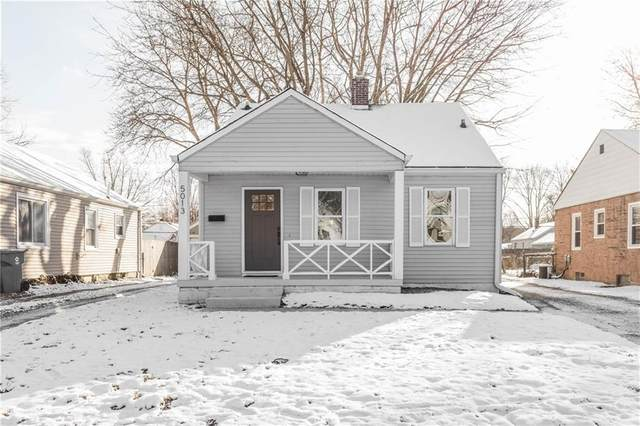 5013 N Evanston Avenue, Indianapolis, IN 46205 (MLS #21697654) :: HergGroup Indianapolis