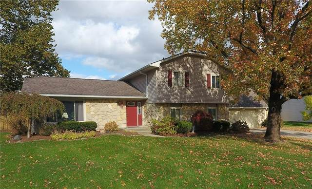 1330 Bluebird Drive, Greenfield, IN 46140 (MLS #21697861) :: The ORR Home Selling Team