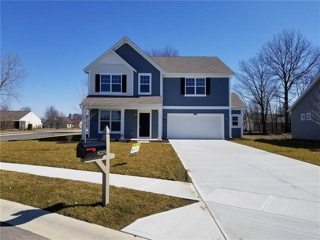 8205 Borland Drive, Indianapolis, IN 46237 (MLS #21697984) :: AR/haus Group Realty