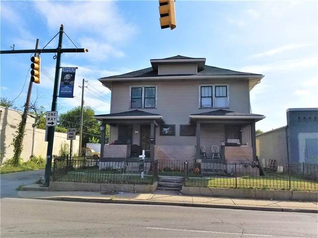 321 W 30TH Street, Indianapolis, IN 46208 (MLS #21698106) :: The Indy Property Source