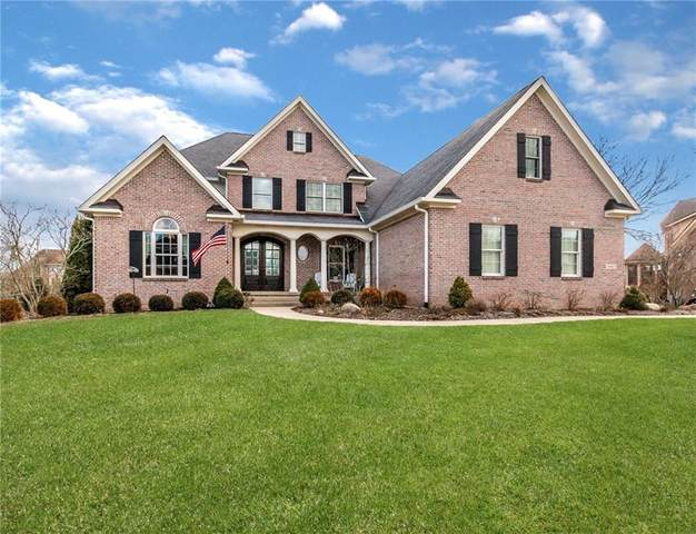 16403 Brookhollow Drive, Westfield, IN 46062 (MLS #21698132) :: The Evelo Team