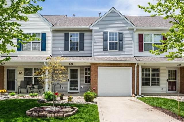 524 Carroll Drive #1704, Westfield, IN 46074 (MLS #21698368) :: The ORR Home Selling Team