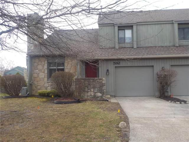 592 Conner Creek Drive, Fishers, IN 46038 (MLS #21698623) :: AR/haus Group Realty
