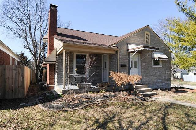 1026 N Hawthorne Lane, Indianapolis, IN 46219 (MLS #21698951) :: Anthony Robinson & AMR Real Estate Group LLC