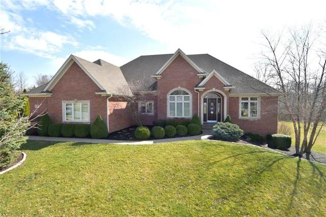 1829 Eagle Trace Drive, Greenwood, IN 46143 (MLS #21699211) :: The ORR Home Selling Team