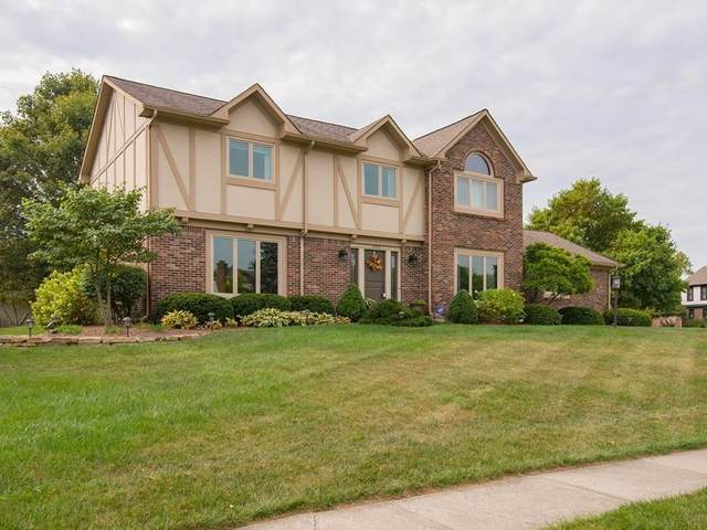 145 Stony Creek Overlook, Noblesville, IN 46060 (MLS #21699405) :: The Evelo Team
