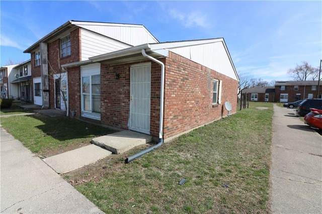 4141 N Brentwood Drive, Indianapolis, IN 46235 (MLS #21699584) :: The Indy Property Source