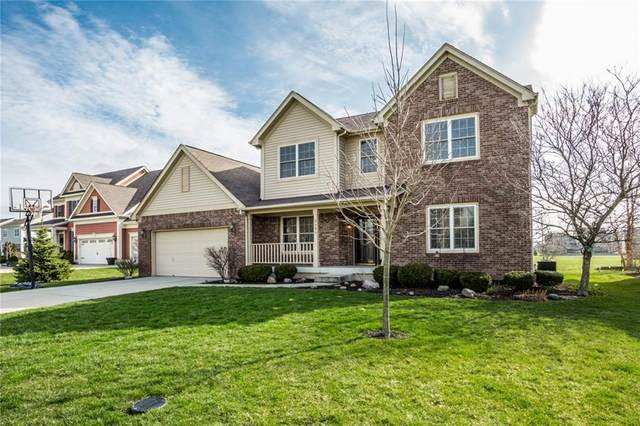 3595 Flagstone Drive, Zionsville, IN 46077 (MLS #21699617) :: Your Journey Team