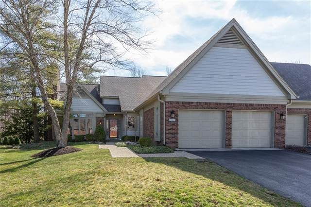 9295 Spring Forest Drive, Indianapolis, IN 46260 (MLS #21699640) :: The ORR Home Selling Team