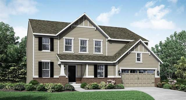 9916 Delmore Drive, Fishers, IN 46040 (MLS #21699929) :: The Indy Property Source