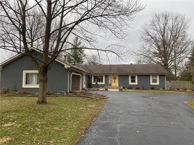 1021 E Catalina Drive, New Palestine, IN 46163 (MLS #21700032) :: The Indy Property Source