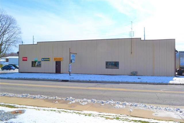 701 W 1st Street, Rushville, IN 46173 (MLS #21700072) :: The Indy Property Source