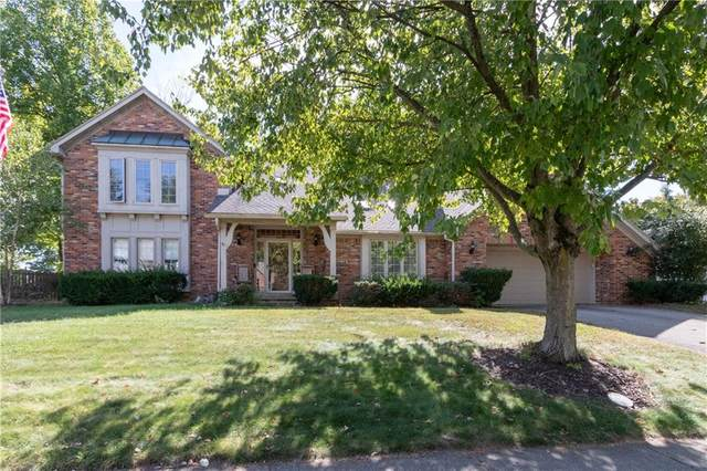 10645 Courageous Drive, Indianapolis, IN 46236 (MLS #21700186) :: The Evelo Team