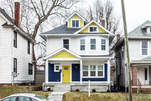 3145 N New Jersey Street, Indianapolis, IN 46205 (MLS #21700363) :: The Indy Property Source