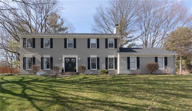 10728 E Lakeshore Drive, Carmel, IN 46033 (MLS #21700501) :: The ORR Home Selling Team