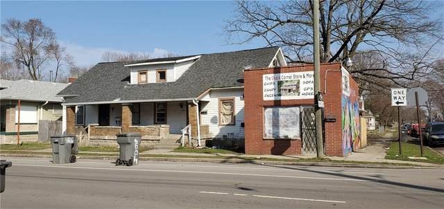 4128 E Michigan Street, Indianapolis, IN 46201 (MLS #21700529) :: The Indy Property Source