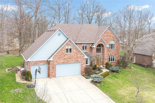 7664 W Williamswood Drive, New Palestine, IN 46163 (MLS #21700725) :: The Indy Property Source