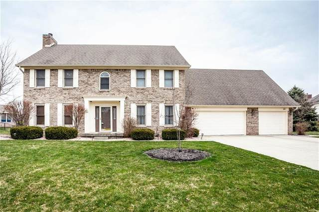 1099 Forest Commons Drive, Avon, IN 46123 (MLS #21700845) :: The Evelo Team