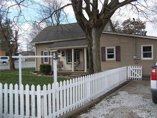 24 W Mill Street, New Palestine, IN 46163 (MLS #21700899) :: The Indy Property Source
