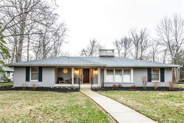 8135 Sycamore Road, Indianapolis, IN 46240 (MLS #21700907) :: The Indy Property Source