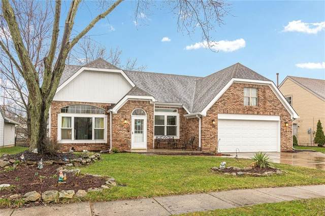 10227 Park Ridge Drive, Indianapolis, IN 46229 (MLS #21700976) :: The Evelo Team