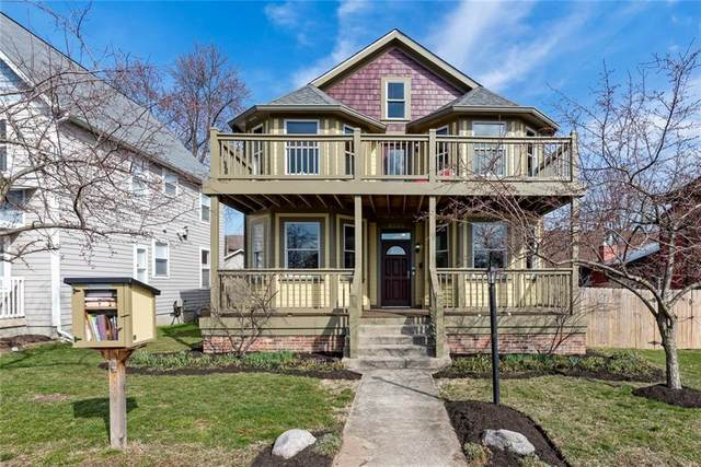 2533 N Pennsylvania Street, Indianapolis, IN 46205 (MLS #21700995) :: Anthony Robinson & AMR Real Estate Group LLC