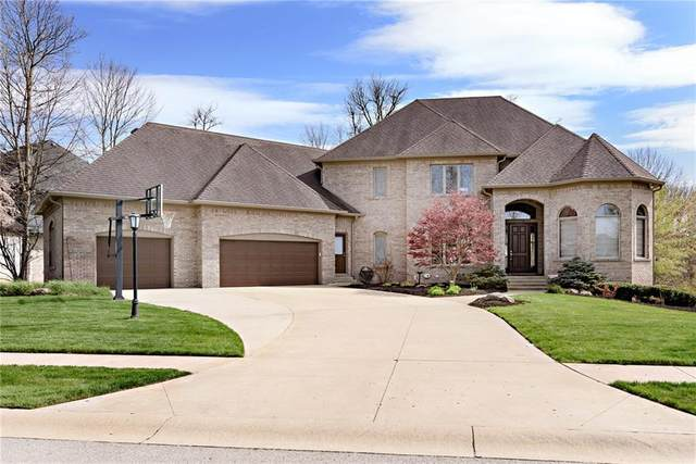 14655 Geist Ridge Drive, Fishers, IN 46040 (MLS #21701051) :: Anthony Robinson & AMR Real Estate Group LLC