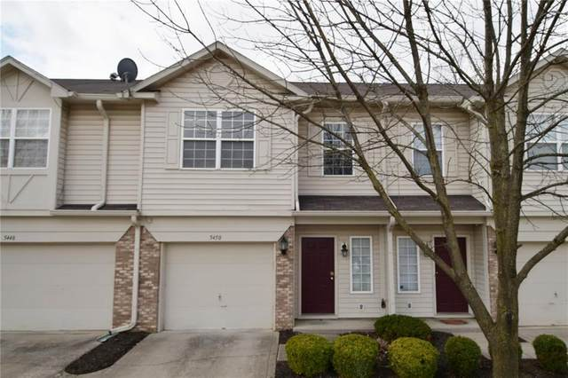 5450 Nighthawk Drive, Indianapolis, IN 46254 (MLS #21701207) :: The ORR Home Selling Team