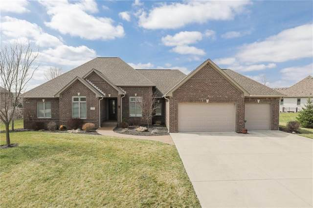 4902 Benthaven Drive E, Bargersville, IN 46106 (MLS #21701235) :: The Indy Property Source