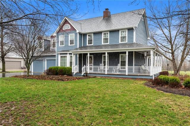 2273 S Oakwood Drive, New Palestine, IN 46163 (MLS #21701289) :: The Indy Property Source