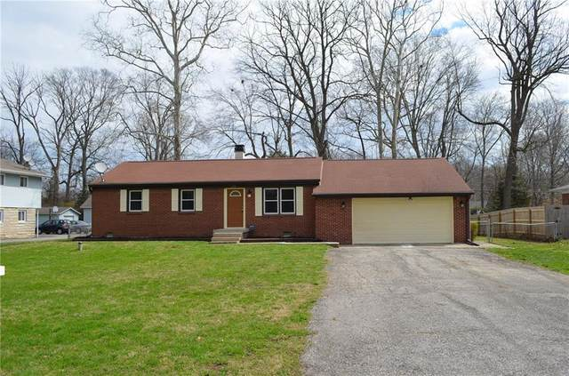 1335 N Eustis Drive, Indianapolis, IN 46229 (MLS #21701410) :: David Brenton's Team