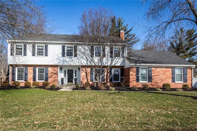 3516 Brunswick Drive, Carmel, IN 46033 (MLS #21701415) :: The ORR Home Selling Team