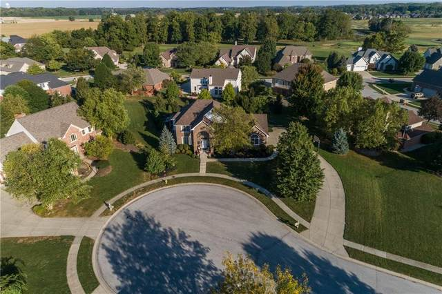 16 Masters Circle, Brownsburg, IN 46112 (MLS #21701449) :: The Evelo Team