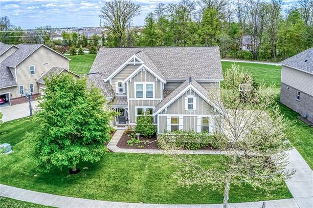 14021 Four Seasons Way, Carmel, IN 46074 (MLS #21701456) :: The Evelo Team