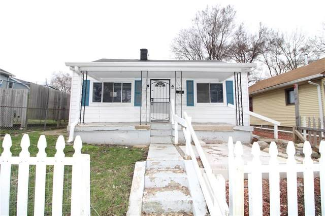 400 Villa Avenue, Indianapolis, IN 46201 (MLS #21701554) :: The Indy Property Source