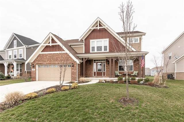 3587 Snowdon Drive, Westfield, IN 46074 (MLS #21701556) :: The Evelo Team