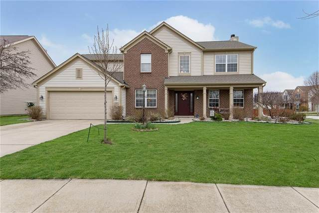 11977 Cobblestone Drive, Fishers, IN 46037 (MLS #21701573) :: HergGroup Indianapolis