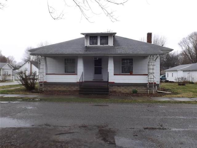103 S Chestnut Street, Waldron, IN 46182 (MLS #21701585) :: David Brenton's Team